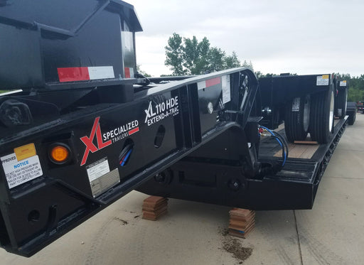 NEW XL Specialized 55 Ton Extendable 26'- 44' Hydraulic Neck (RGN)