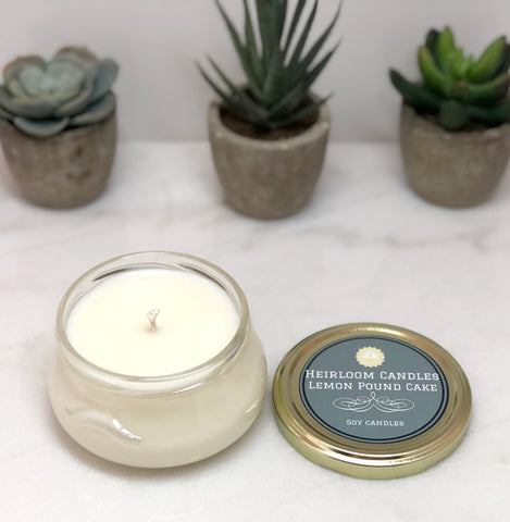 Lemon Pound Cake Soy Candle