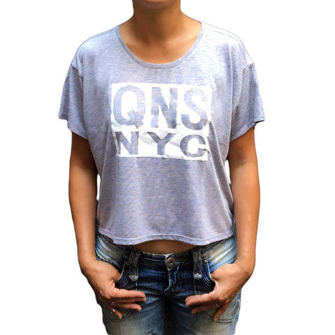 QNSNYC Women's Flowy Box T