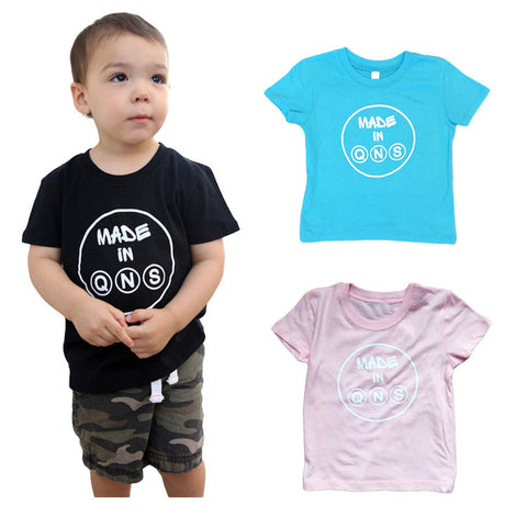 """Made in Qns"" Toddler T"