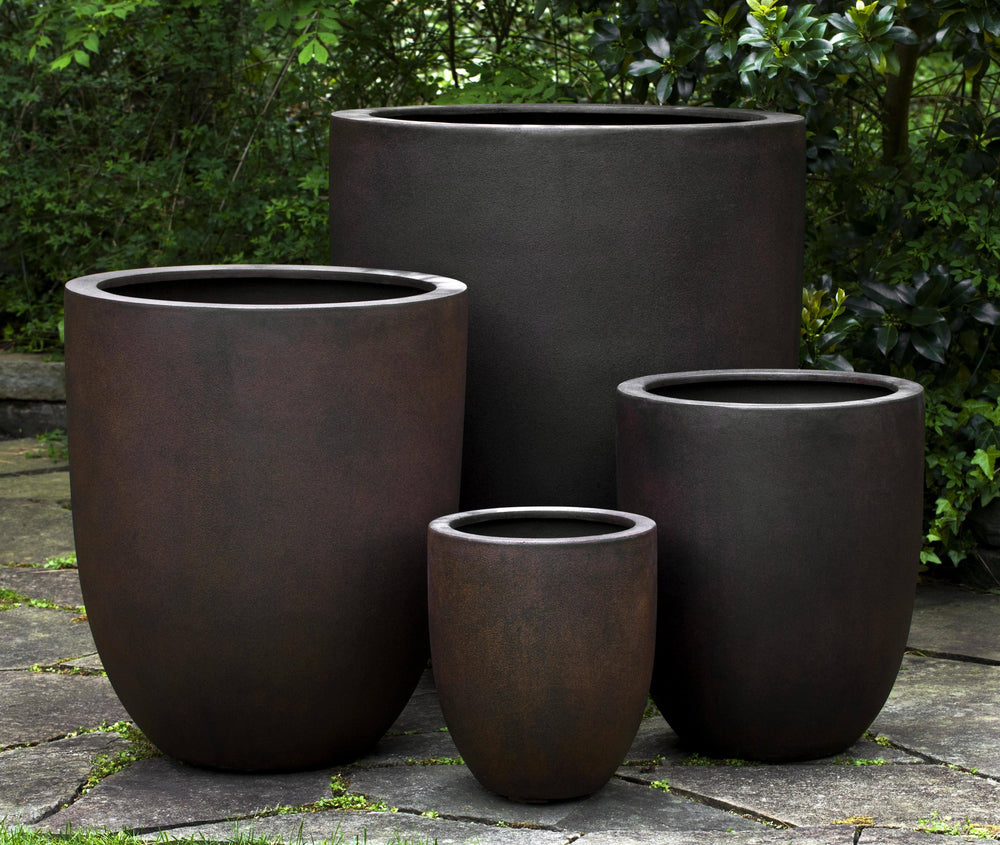 Campania International Fiber Clay Bradford Planter Urn/Planter Campania International