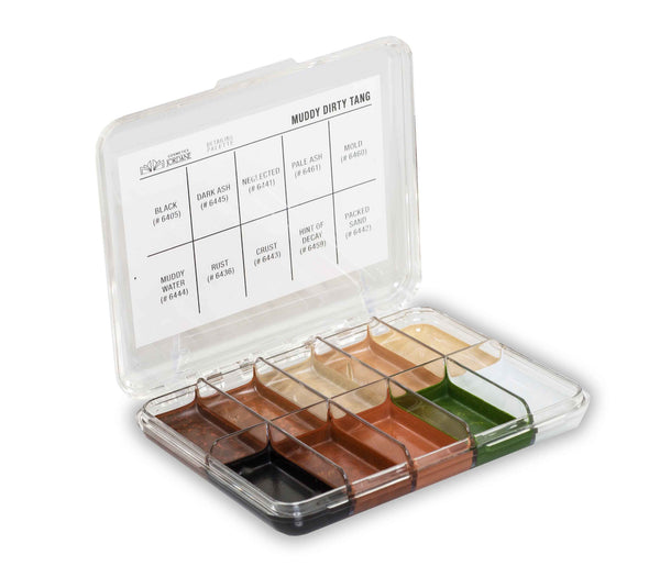 Muddy Dirty Tang Alcohol Detailing Palette Body Impression    MINI
