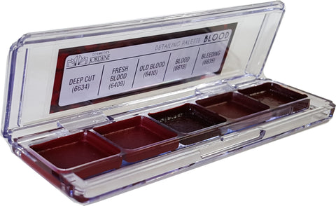 BLOOD Alcohol Detailing Palette Body Impression   (5 Cavity.)