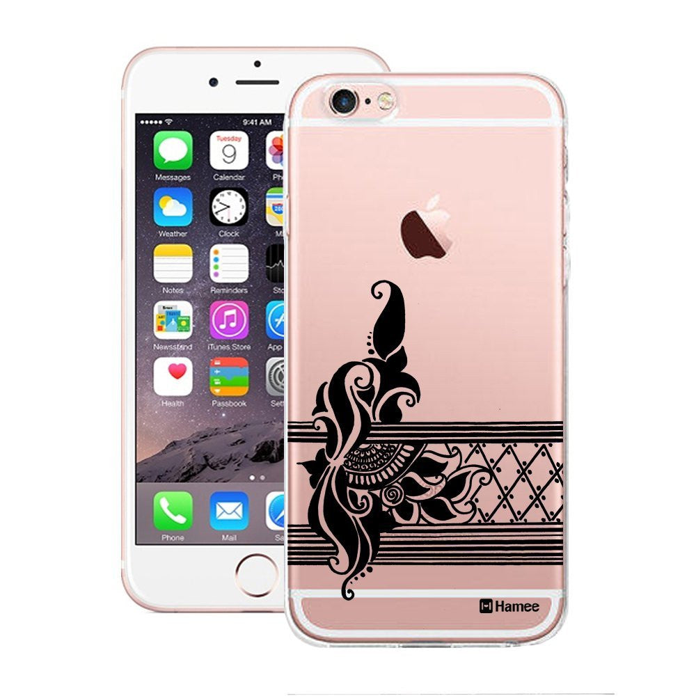 Hamee Ethnic Stripes Flowers Designer Cover For Apple iPhone 6 / 6S-Hamee India