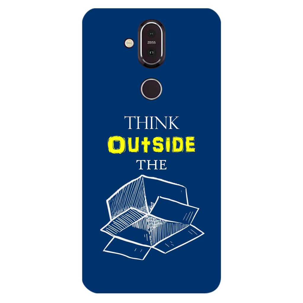 Think Nokia 8.1 Back Cover-Hamee India