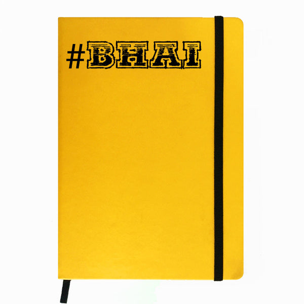 #Bhai - Yellow Notebook-Hamee India