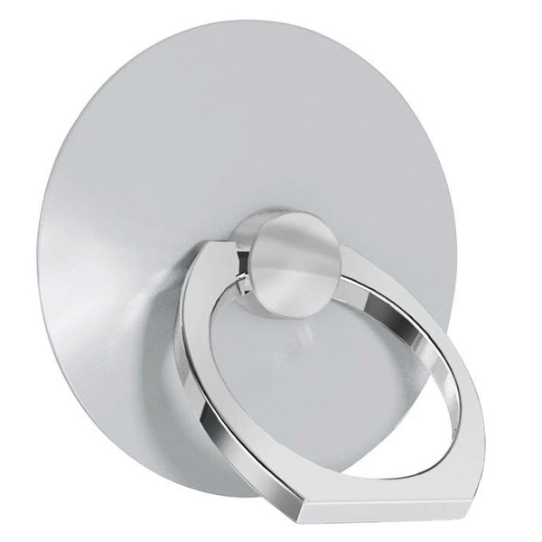 Ring Holder Grip Stand - Silver-Hamee India