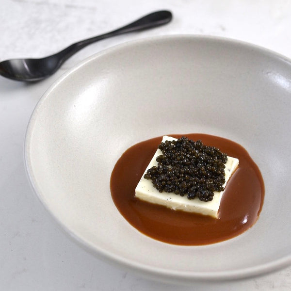 The Mind of a Chef: Creme Fraiche Panna cotta with Caviar