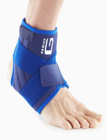 Stabilized Ankle Support with Figure of 8 Strap