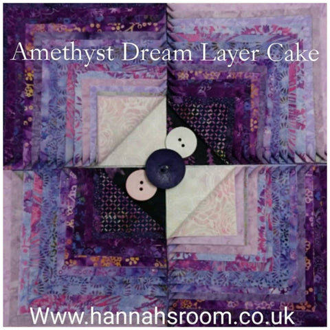 "Amethyst Dream 10"" Layer Cake"