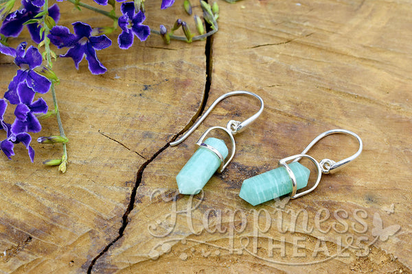 Amazonite Double PointEarrings