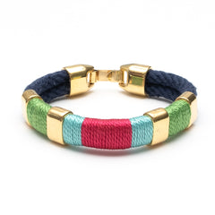 Newbury - Navy/Lime/Turquoise/Pink/Gold