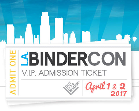 BinderCon LA 2017 VIP Ticket