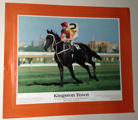 4. Poster - Kingston Town limited edition