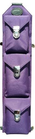Sucaro Freedom Sling - Hands-Free - Gender Neutral - Purple Microfiber Bag - Sucaro Bags New York