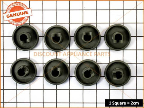 ELECTROLUX SIMPSON DISHLEX WESTINGHOUSE DISHWASHER LOWER BASKET WHEEL KIT ( 8 IN A PACK )  PART # 50286965-00/4