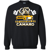 This Girl Loves her Camaro - Hoodie Yellow