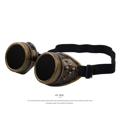 Retro Cosplay Steampunk Victorian Style Goggles