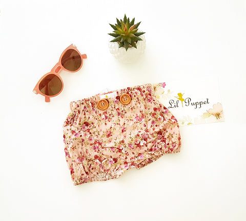 Delilah Button shorts