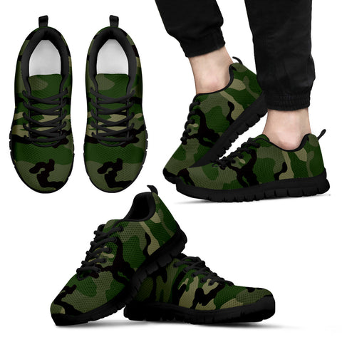 Mens Sneakers Camouflage shoes