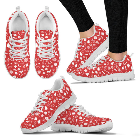 Image of Womens Christmas Sneakers Shoes