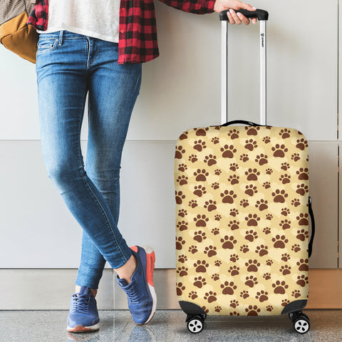 Dog Paws Luggage Cover