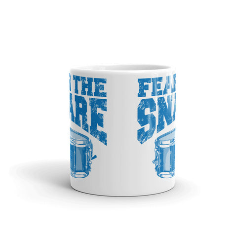 Fear The Snare Drum Percussion Mug