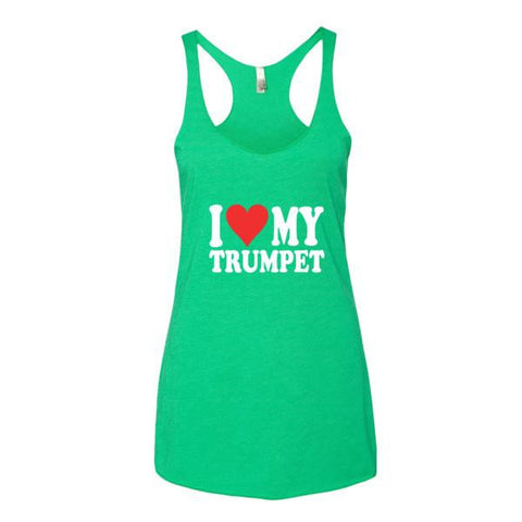 Image of I Love My Trumpet, Women's tank top