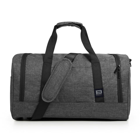 BAGSMART New Travel Bag Large Capacity Men Hand Luggage Travel Duffle Bags Nylon Weekend Bags Multifunctional Travel Bags