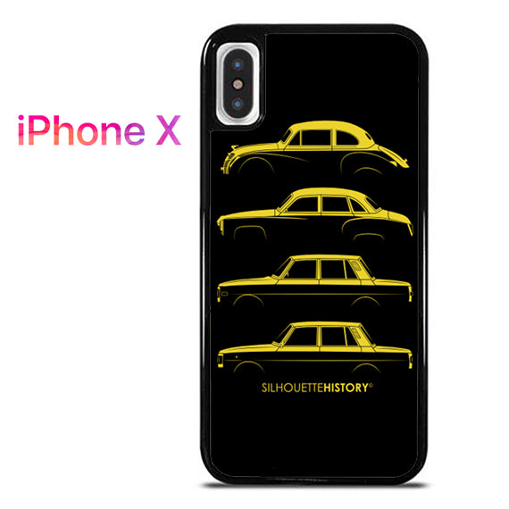 311 Silhouette Hystory - iPhone X Case - Tatumcase