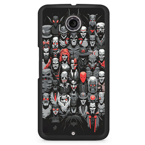 Batman And The Villain Phonecase Cover Case For Google Nexus 4 Nexus 5 Nexus 6