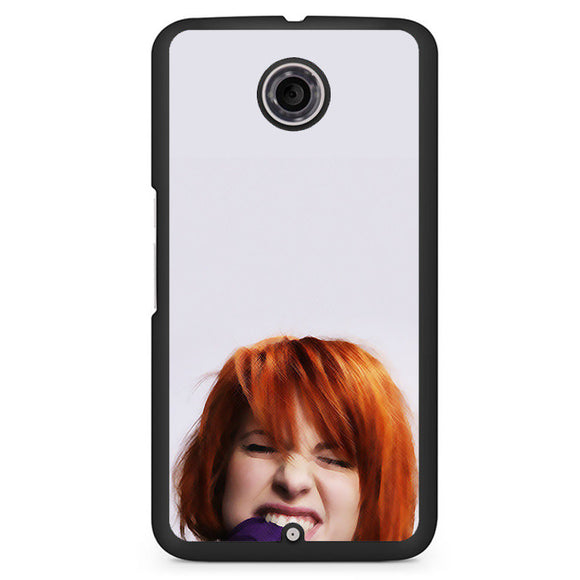 Paramore Phonecase Cover Case For Google Nexus 4 Nexus 5 Nexus 6