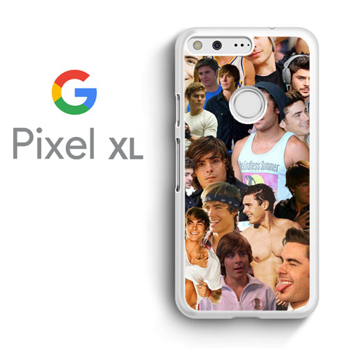 Zac Efron Collage - Google Pixel XL Case - Tatumcase