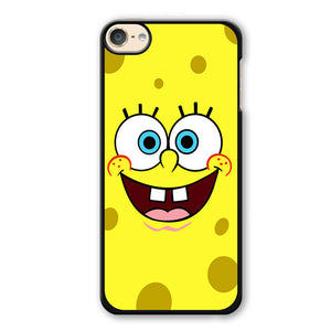 Spongebob Squarepants Face Phonecase Cover Case For Apple Ipod 4 Ipod 5 Ipod 6