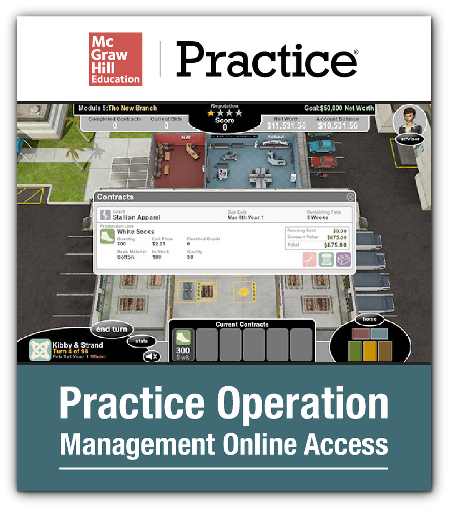 Practice Operations Management Online Access