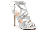 BABE SILVER LADY COUTURE SHOES
