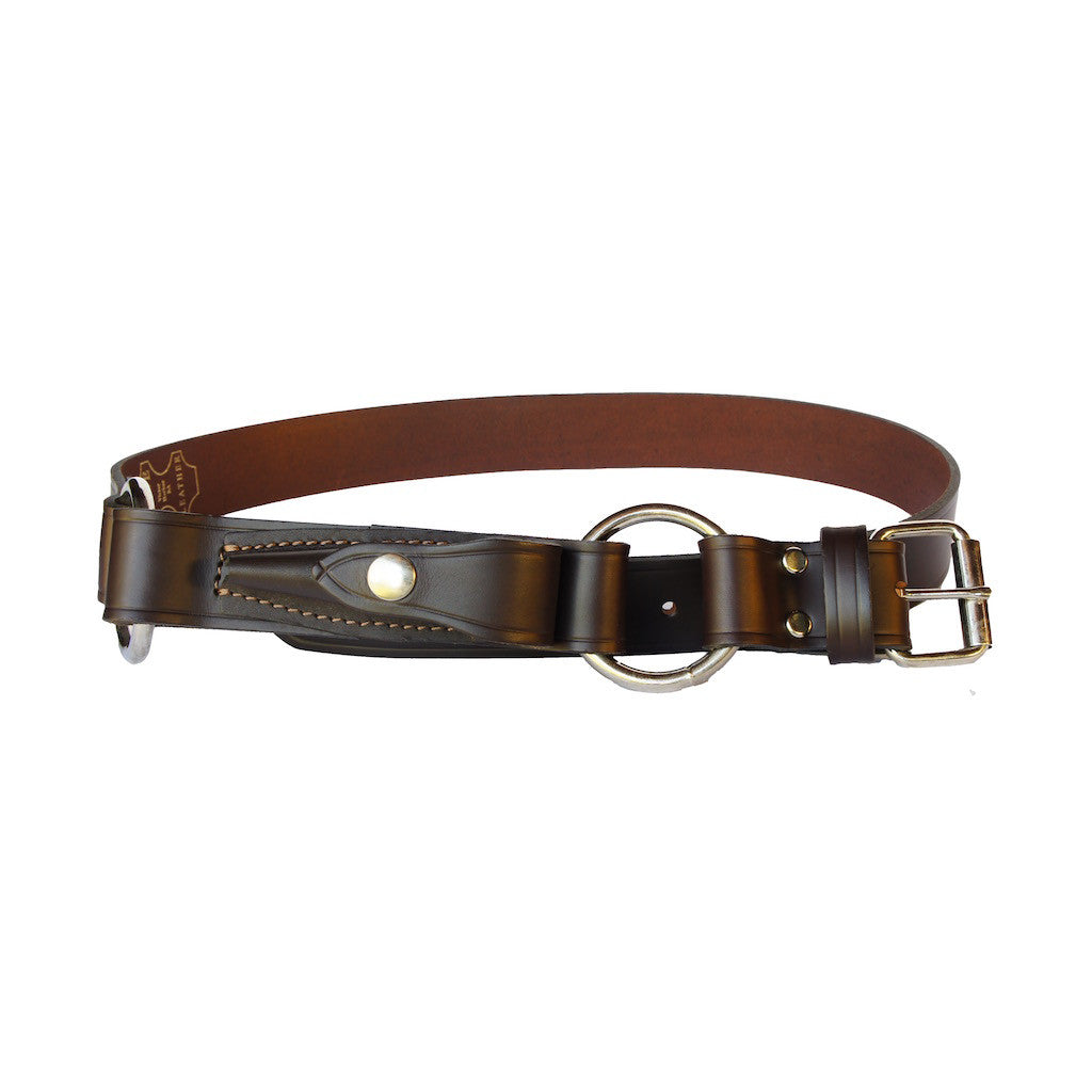 Balla Balla - Brown 100% Cowhide Leather Belt
