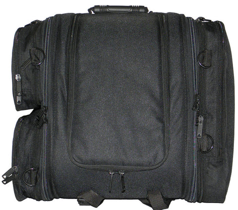 VS341 Vance Leather Textile Trunk Pack with 3 Side Pockets - Daytona Bikers Wear
