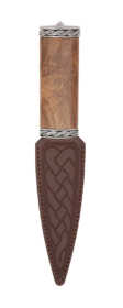 Torridon Rosewood Sgian Dubh With Plain Top
