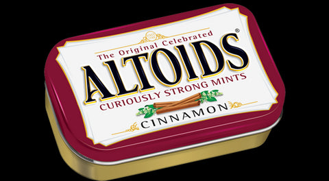 Altoids Curiously Strong Mints - Cinnamon