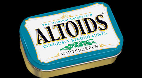 Altoids Curiously Strong Mints - Wintergreen