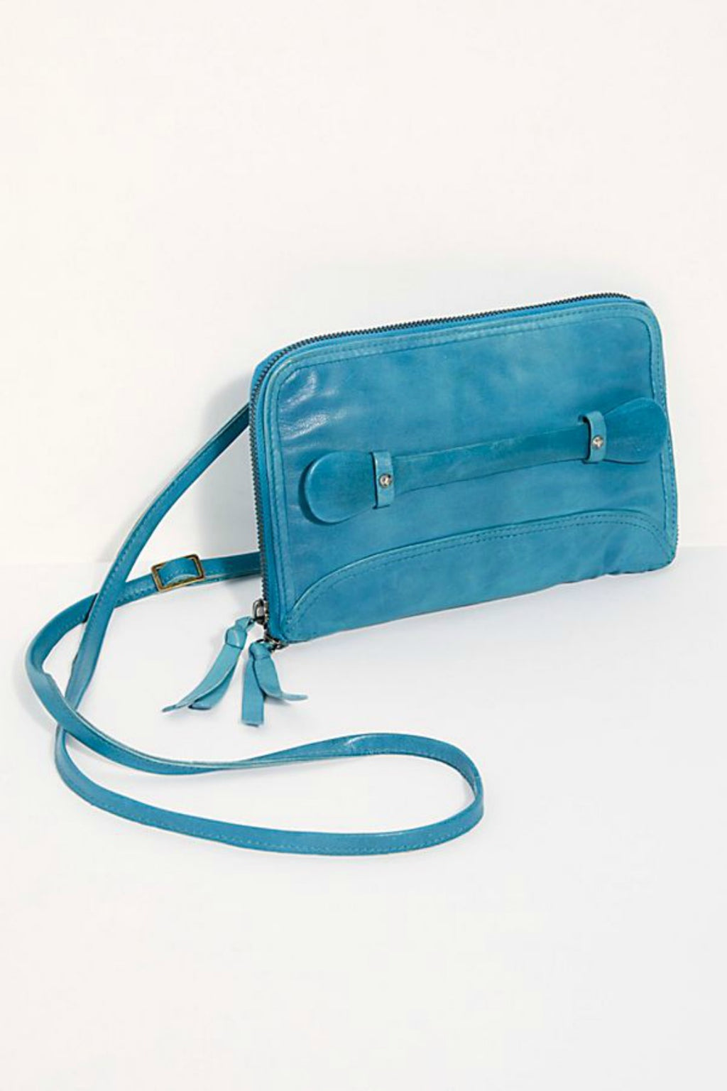 Free People We The Free Traveler Wallet - Turquoise