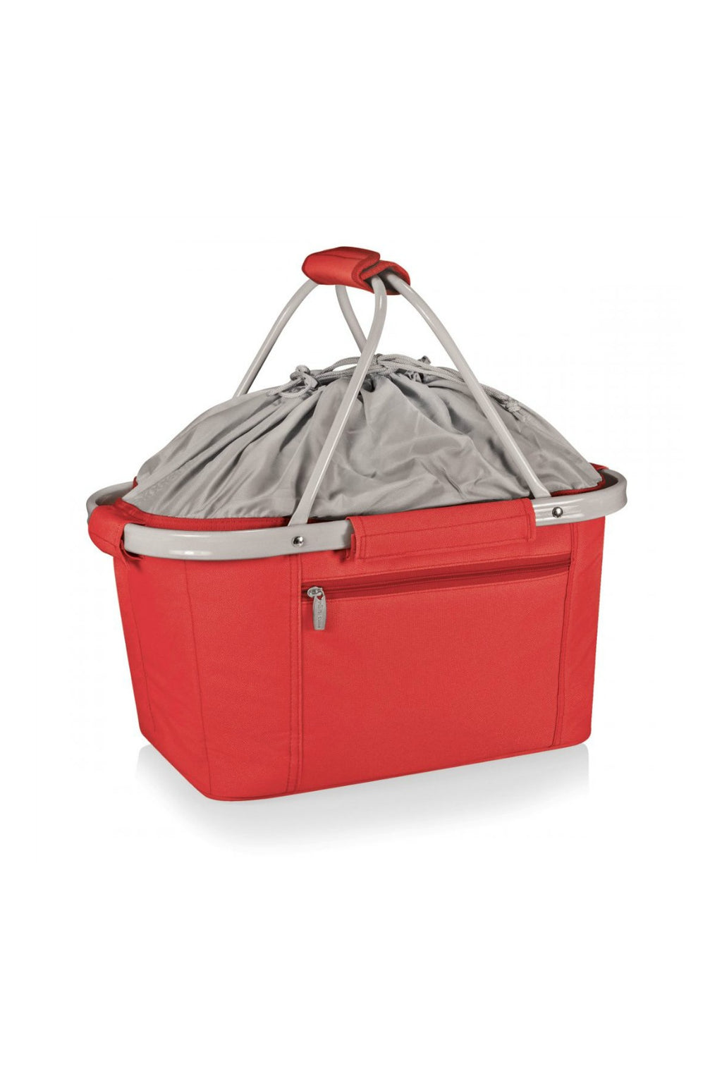 Picnic Time Metro Basket Collapsible Cooler Tote - Red