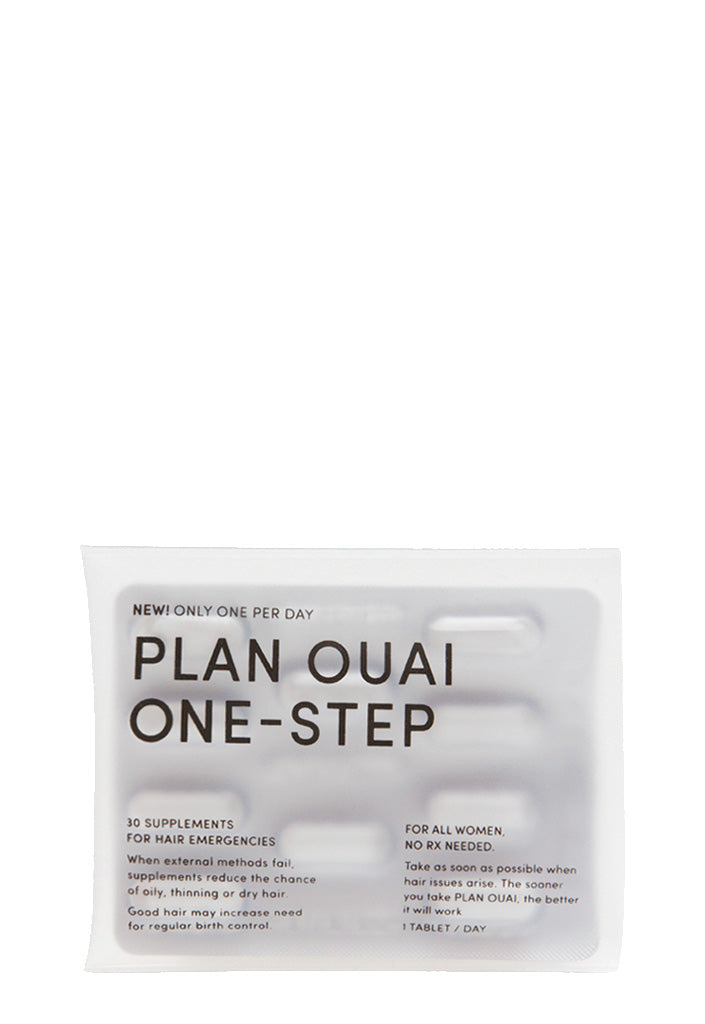 OUAI Haircare Merch - Plan OUAI Supplement Sleeve