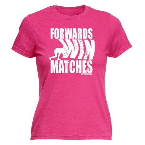 FORWARDS WIN MATCHES Fitted T-Shirt