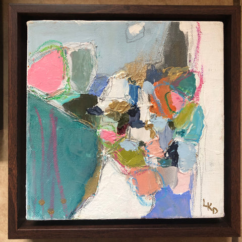 Abstract 1 painting Lynnette Driver - Christenberry Collection