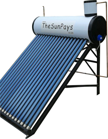Low Pressure 250L Solar Geyser With Auxiliary Tank (5-Year Guarantee)