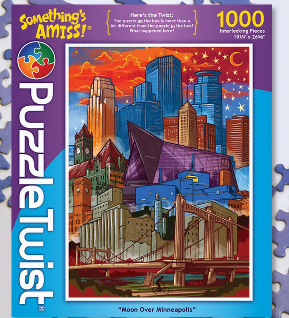 Moon Over Minneapolis Puzzle