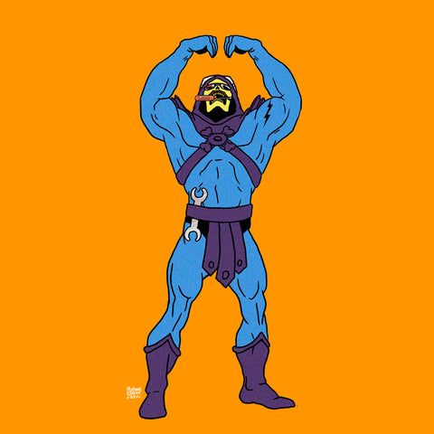 "SKELETOR IS THE ""M"""