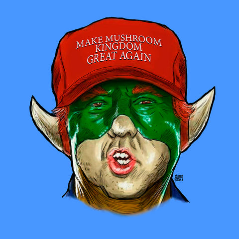 Make Mushroom Kingdom Great Again
